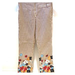 Urban Outfitters BDG Striped Floral Pant